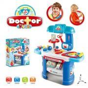 Детский игровой набор доктора аптечка со столиком