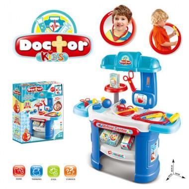 Детский игровой набор доктора (аптечка) со столиком
