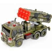 Инерционная машинка военный грузовик