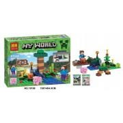 Конструктор аналог LEGO Minecraft Фермер стив