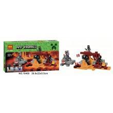 Конструктор аналог LEGO Minecraft Иссушитель