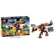 Конструктор аналог LEGO Nexo Knights Инфернокс и захват королевы