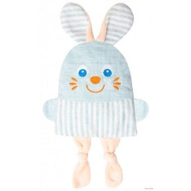 Игрушка грелка Крошка зайка