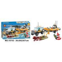 Конструктор аналог LEGO City Внедорожник 4х4 команды быстрого реагирования
