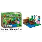 Конструктор аналог LEGO Minecraft Арбузная ферма