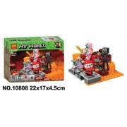 Конструктор аналог LEGO Minecraft Бой в подземелье
