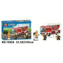 Конструктор аналог LEGO City Пожарная машина с лестницей