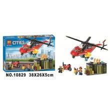 Конструктор аналог LEGO City Пожарная команда быстрого реагирования