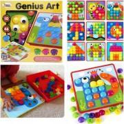 Детская мозаика Цветная фантазия 10 платформ с рисунками