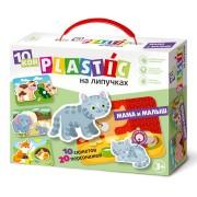 Пластик на липучках Мама и малыш