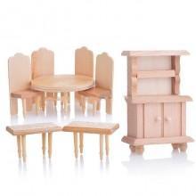 Игрушечная мебель для кукол Кухня, 8 элементов