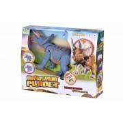 Интерактивная игрушка динозавр Трицератопс