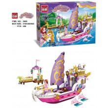 """Конструктор Brick """"Корабль принцессы"""""""
