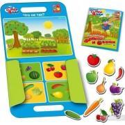 Настольная игра на магнитах Овощи и фрукты