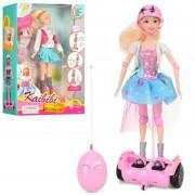 Кукла Кайлили на гироскутере