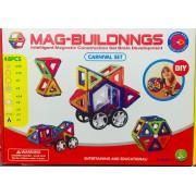 Магнитный конструктор 48 деталей Mag-Building