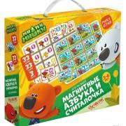 Развивающие игры Магнитный набор азбука и счет