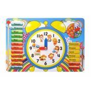 Детские деревянные часы