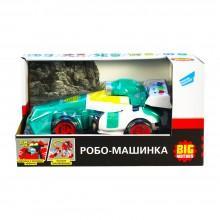Детский игрушечный транспорт спортивный болид Робо-машинка