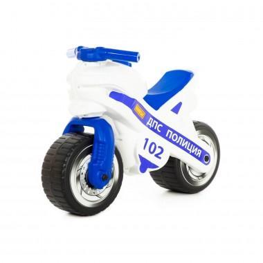 Каталка-беговел мотоцикл белый Полесье
