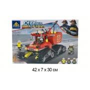 Конструктор Kazi аналог лего City Сити Пожарный трактор KY80528