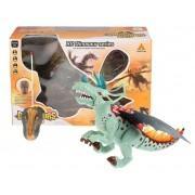 Динозавр на пульте управления свет звук