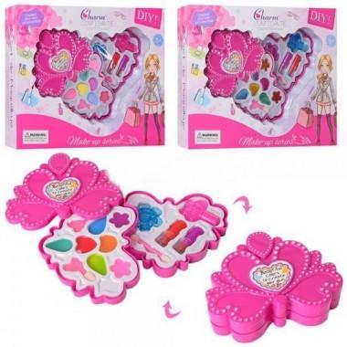 Набор детской косметики Сердце 2 яруса