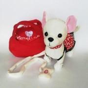 Мягкая игрушка Собачка ЧиЧи-Лав сумочкой