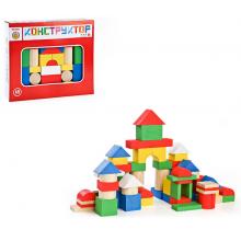 Деревянный конструктор Цветной томик