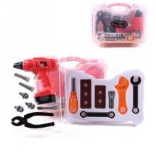 Детский набор инструментов  Умелые руки 16 предметов