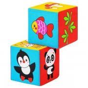 Кубики Мякиши Кто что ест? арт 590