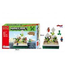 Конструктор аналог LEGO Minecraft Снежное укрытие