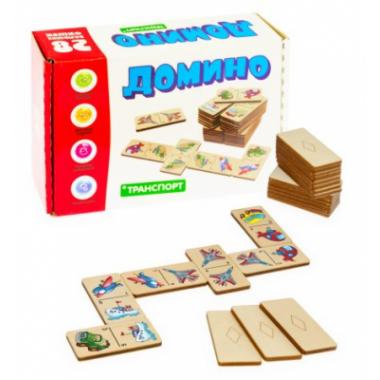 Настольная игра Домино большое Транспорт