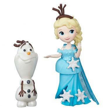"""Маленькая кукла """"Холодное сердце"""" с другом"""