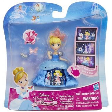 Маленькая кукла с волшебной юбкой Принцессы Диснея