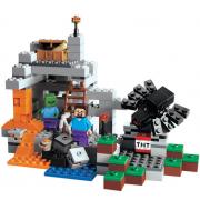 Конструктор аналог LEGO Minecraft Пещера