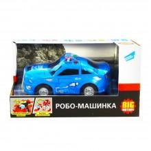 Детский игрушечный транспорт Робо-машинка полицейский автомобиль