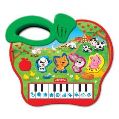 Развивающее пианино Яблочко