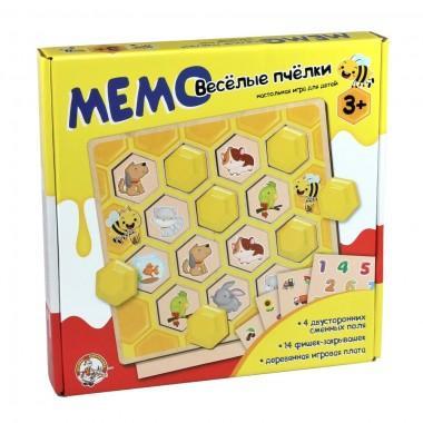Развивающая игра memo Веселые пчелки