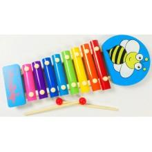 Детский деревянный ксилофон