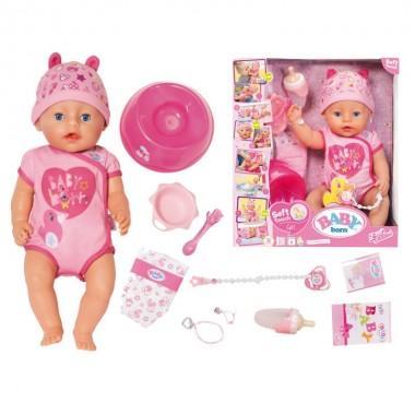 """Кукла Baby Born """"Очаровательная малышка"""", с аксессуарами, 43 см"""