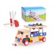 Деревянная игрушка машина Болтики