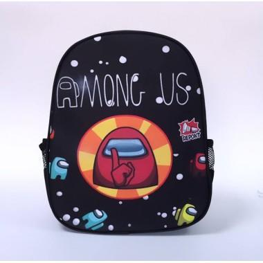 Детский рюкзак с принтом Амонг Ас Among Us арт. among 1
