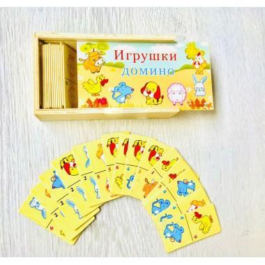 Домино детское Домашние животные арт. ST457-2