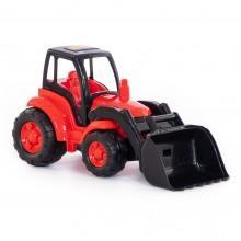 «Чемпион», трактор с ковшом (в сеточке)