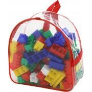 Конструктор-гигант 100 элементов в рюкзаке