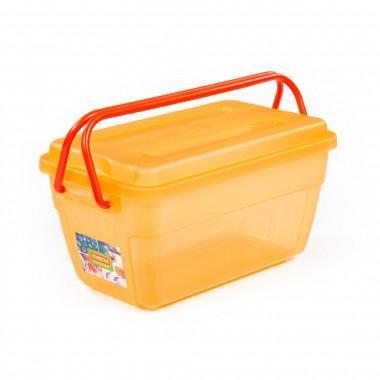 Емкость для хранения с крышкой и ручками № 53 9 литров Полесье