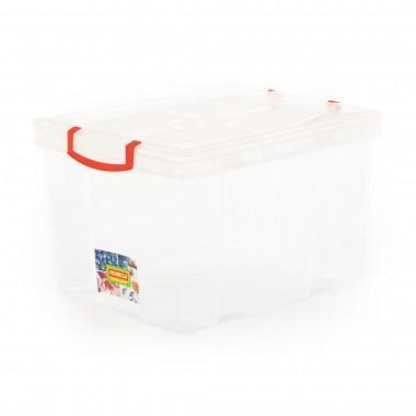 Емкость для хранения с крышкой № 52 32 литров Полесье