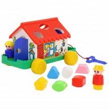 Сортер игровой домик