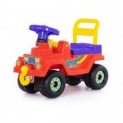 Каталка-автомобиль Джип 4х4  красный Полесье